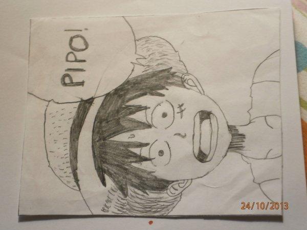 Mes dessins :3 #PARTIE 1# Luffy ^O^