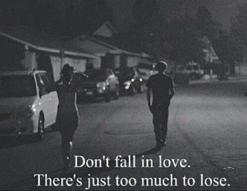 Don't fall. ❤️