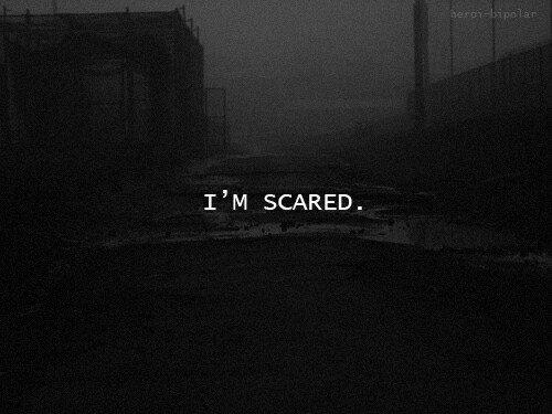 I'm lost. I'm scare. ❤️