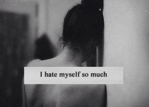 I hate myself so much ❤️