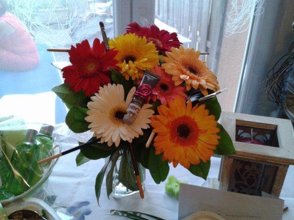 un bouquet pour mes 65 ans