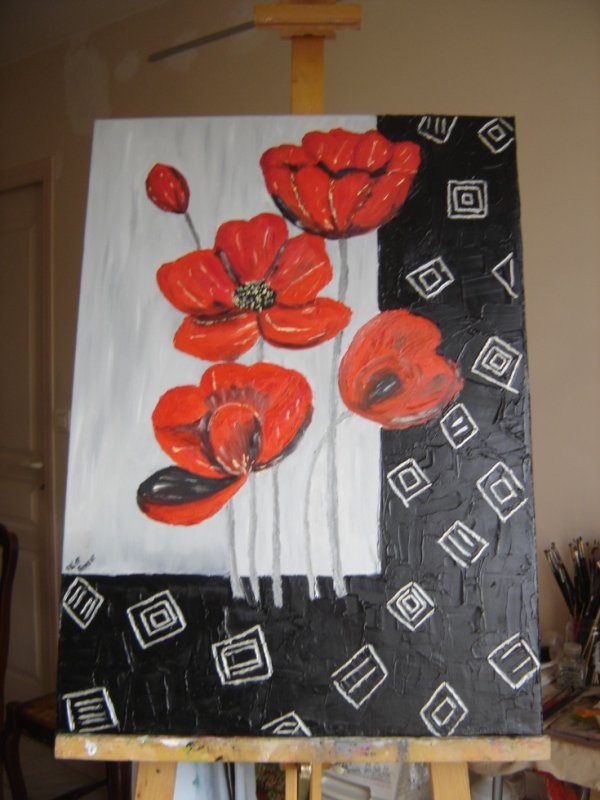 gentils coquelicots ( mesdames )