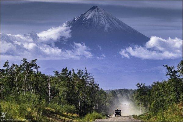 Voyage en Russie Le volcan Klioutchevskoï