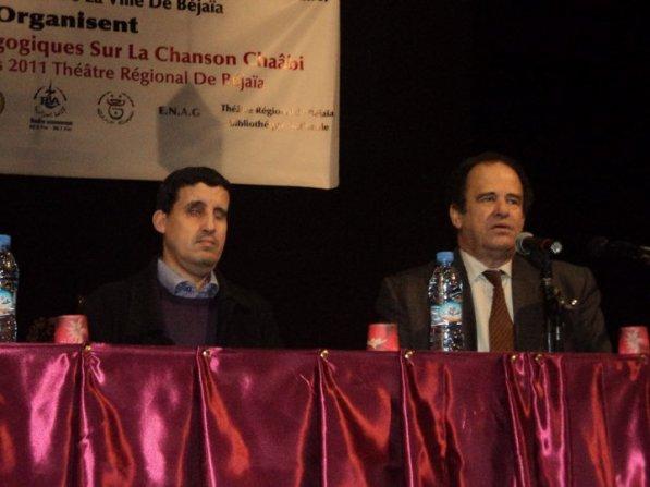 Mr Abdelkader Bendameche en conférence à Béjaîa