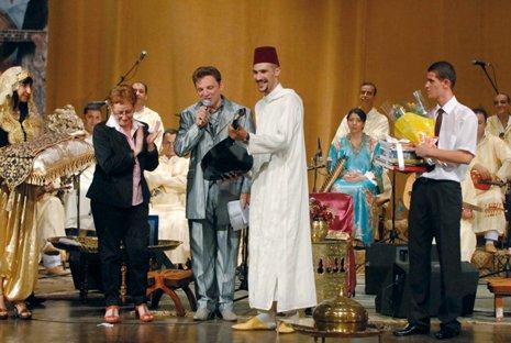 clôture de la  6ème édition du festival national  de la chanson chaabi