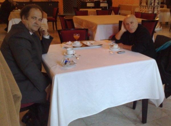 Abdelkader Bendamèche rencontre Rachid Boudjedra
