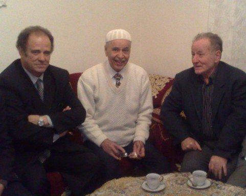 Kamel Hamadi et Abdelkader Bendamèche chez Blaoui el Houari à Oran