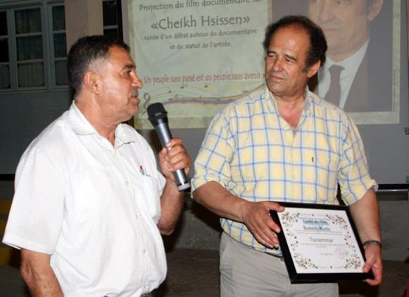 Mr Abdelkader Bendamèche sous les étoiles de la ville d'El Kseur