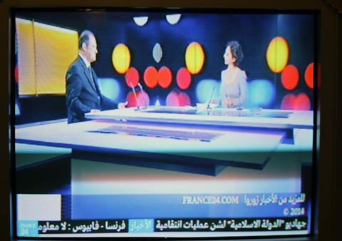 MR ABDELKADER BENDAMECHE    INVITE DE FRANCE  24