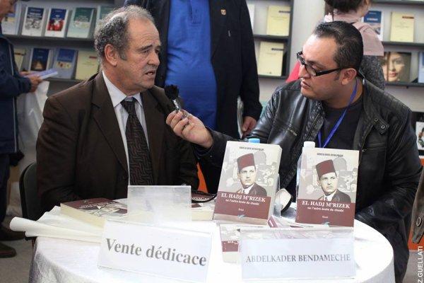 Abdelkader BENDAMECHE en interview pour la chaine 3   salim brahimi