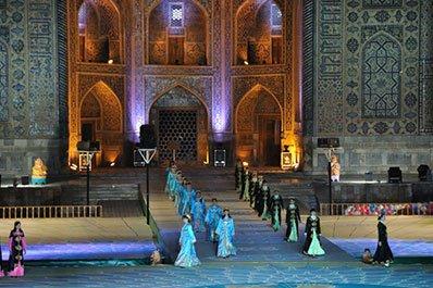 International Music Festival  Sharq taronalari  25-30.08.2017, Samarkand  Ouzbekistan