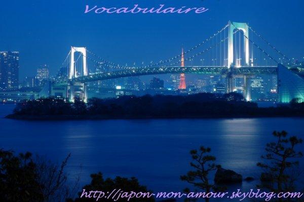 Quelques mots de vocabulaire Japonais (en construction ) ぼきゃぶらりい