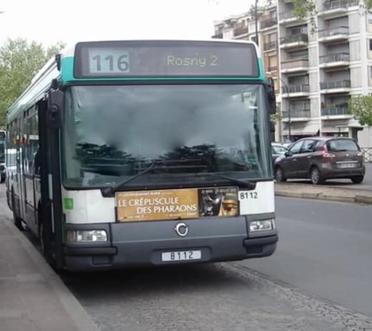 Ligne 116 Rosny-sous-Bois — Van Derheyden (Bois-Perrier RER - Rosny 2 aux heures de jours d'ouverture) ↔ Champigny — Saint-Maur RER