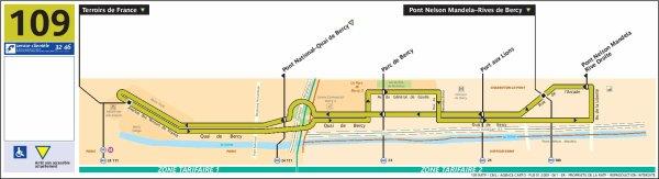 Ligne 109 Terroirs de France ↔ Liberté-Chanzy