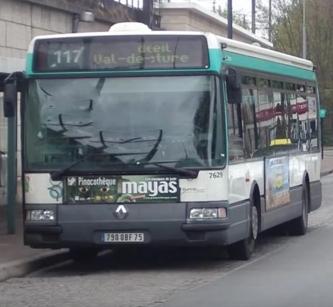 Ligne 117 Créteil — Préfecture du Val-de-Marne ↔  Champigny — Saint-Maur RER