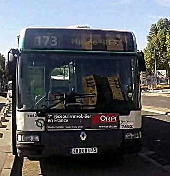 Ligne 173 Porte de Clichy ↔ La Courneuve - 8 Mai 1945