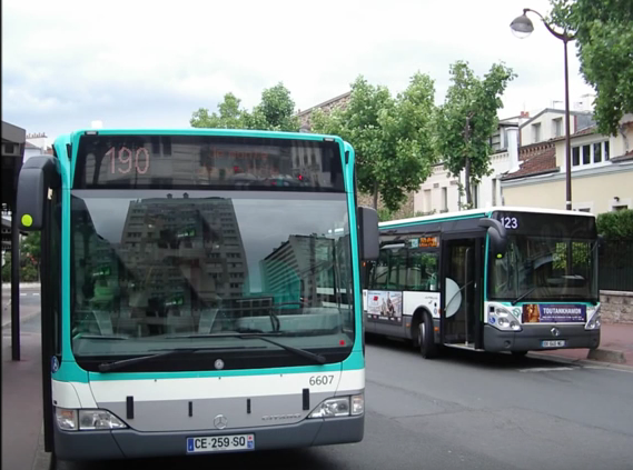 Ligne 190 Petit-Clamart - RD906 ↔ Mairie d'Issy