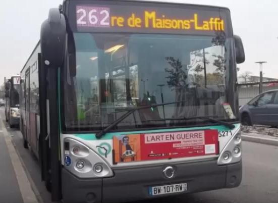 Ligne 262 Gare de Maisons-Laffitte RER ↔ Pont de Bezons