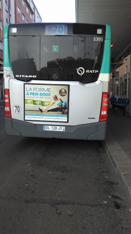 Ligne 170 Gare de Saint-Denis RER ↔ Porte des Lilas
