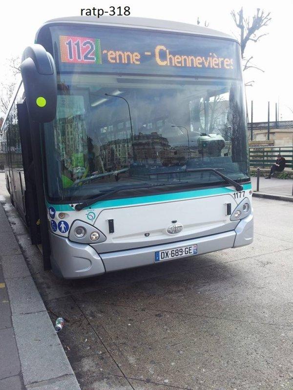 Ligne 112 Château de Vincennes ↔ La Varenne - Chennevières RER