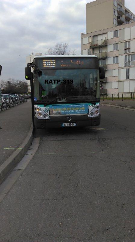 Ligne 102 Gambetta ↔ Rosny-Bois-Perrier RER — Rosny 2