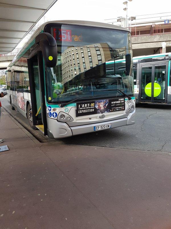les nouveau bus du 251