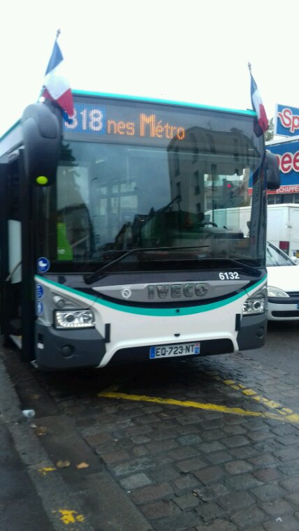 Nouveau bus 318