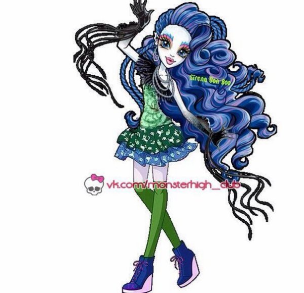 sirena avec des jambe
