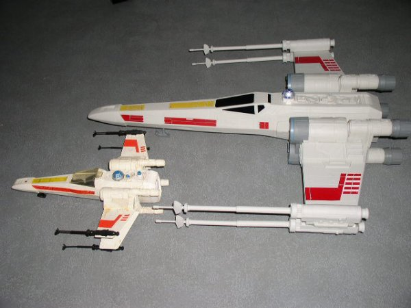 "X-Wing HASBRO ""HERO SERIES"""