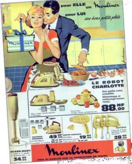 1950 1960 la femme la maison les st r otypes de la for Femme au foyer 1960