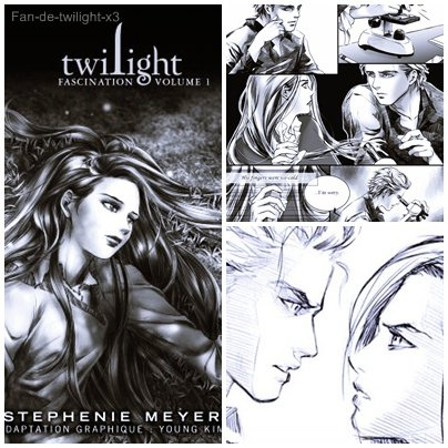 Nouvelle affilée : Twilight--books & x-Funnypeople