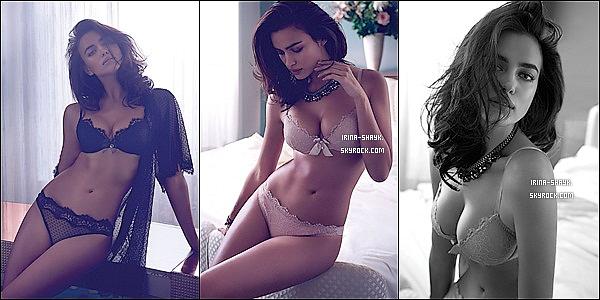 .  ●● Twin Set Lingerie ●●               Irina Shayk prend la pose pour la nouvelle campagne de lingerie Twin Set  automne-hiver 2014.  La jeune mannequin défend ainsi la ligne automne hiver de la marque de lingerie Twin Set, fondée par Simona Barbieri. Vous aimez ?. .