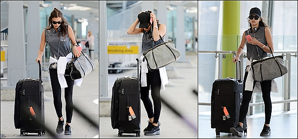 .  13/05/15 :  La mannequin russe Irina Shayk était aperçu à l'aéroport de Londres-Heathrow, en Angleterre. TOP?.   .