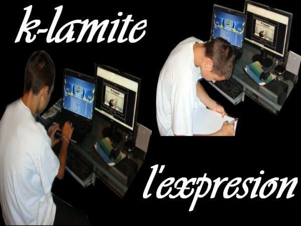 k-lamite s'exprime