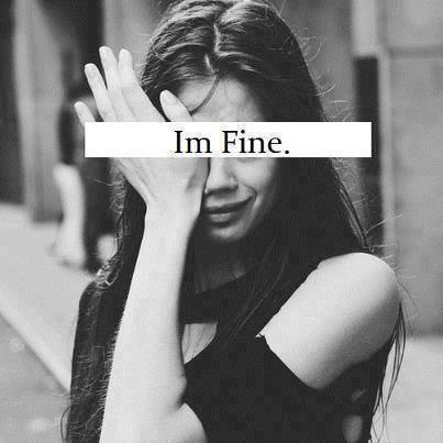 """ I'm fine """