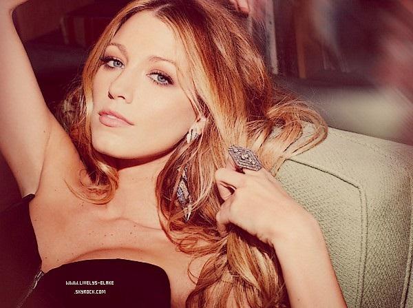 """.  Un Shoot de Blake Pour '' MARIE CLAIRE """" . Je La trouve Magnifique et vous ?! ♥ ."""