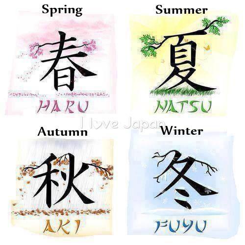 季節 ~ Kisetsu (Saisons)