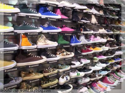 U.S.A.==> new york city==> Chinatownconverse all star les