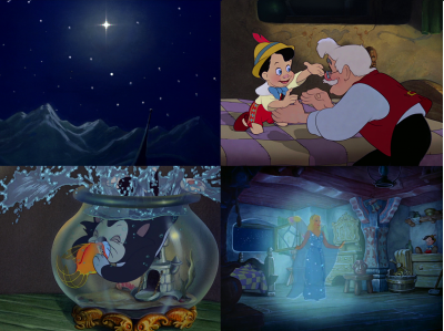 Pinocchio ... le dessin-animé qui m'a traumatisée ! (j'exagère à peine... )
