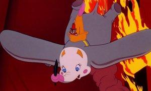"""""""Moi, j'ai vu un cheval voler ...""""   Dumbo, 1941"""