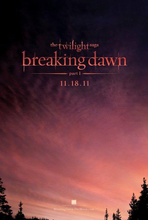 Affiche deTwilight 4 !