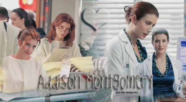 Addison Montgomery - { Créa  x }