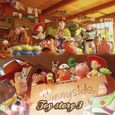 Toy story 3 - { Créa  x }