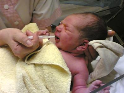 naissance d'un ange