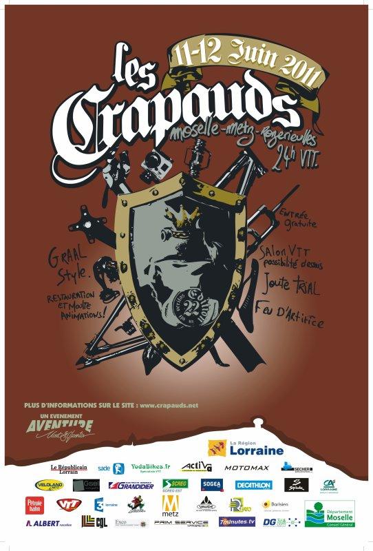 CRAPAUDS 2011