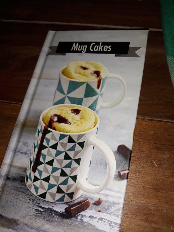 mug cake chocolat blanc / framboise