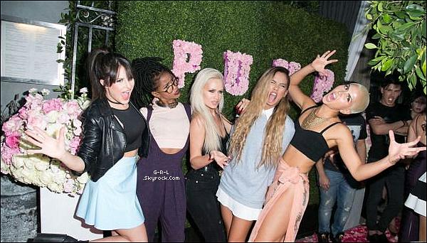 """13-05  - Le groupe à West Hollywood en Californie pour  l'ouverture de """"Pump Lounge"""". • Elles sont toute sublimes comme à chaque fois mais petite préférance pour Natasha, Lauren & Paula. Bof pour Emmalyn et Simone."""