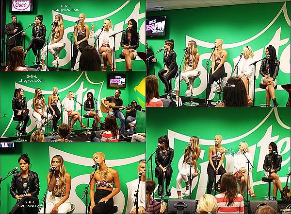 13-06  - G.R.L. ont performer et fait un Meet & Greet au Sprite Lounge, pour les fans.• Les filles ont voulu une fois de plus, porter chacune des tenues accordés, ça leur va très bien d'ailleurs, avec un sublime sourire.
