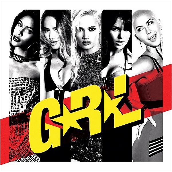 """Voici la pochette du tout premier EP des G.R.L. intitulé """"G.R.L."""" qui sort le 29/07."""