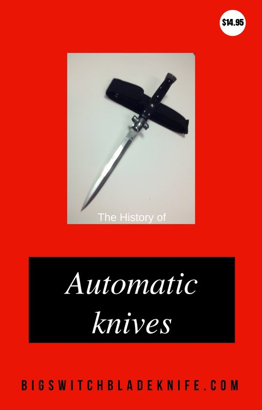 Automatic knives detailed book of switchblades from around the world